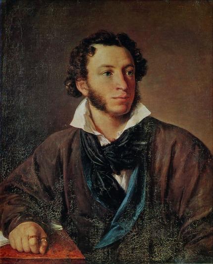 Aleksander S. Pushkin, 1827, Vasily A.Tropinin
